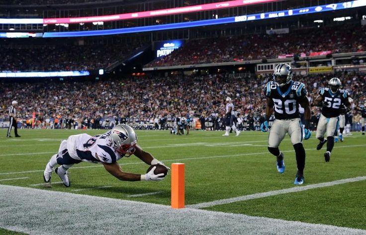 Panthers vs. Patriots: Preseason Week 3   Shane Vereen TD!  8/22/14