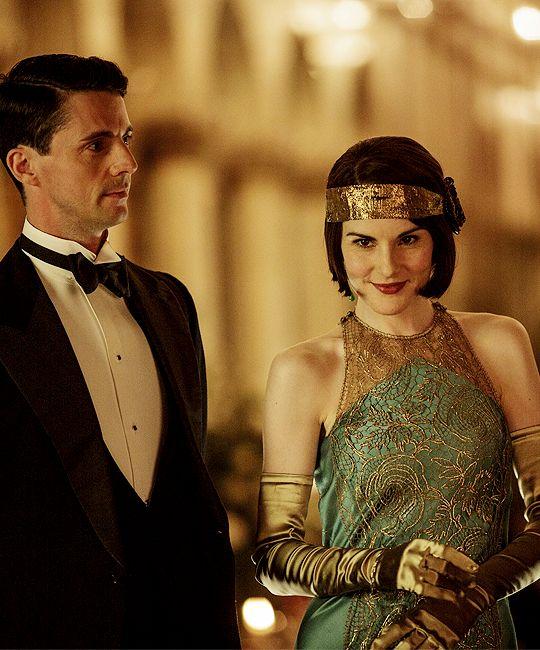 "jodockerys: ""Lady Mary Crawley & Henry Talbot, Downton Abbey 6x06 """