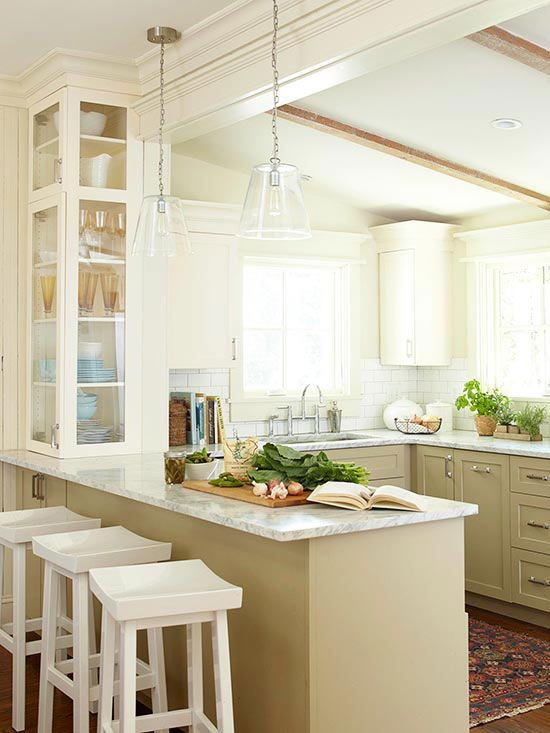 217 best WhitePainted Kitchens images on Pinterest