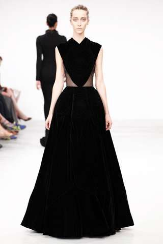 Azzedine Alaia Fall 2011 Couture Marked the First Show in Eight Years #velvet #fashion trendhunter.com