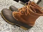 "8"" Men's LL Bean Boots Size 11 M Tan Brown Great Condition  Price 93.0 USD 30 Bids. End Time: 2016-12-07 00:26:42 PDT"