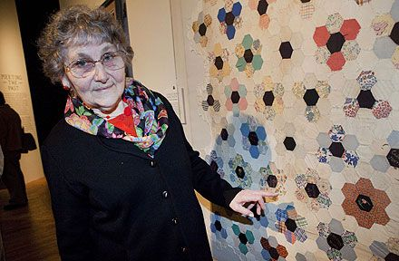the Changi Girl Guide quilt, stitched by 20 young British girls imprisoned in Changi jail during the Second World War.