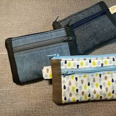 Je vous propose un tuto pour réaliser ce porte-monnaie multifonction : porte-cartes, porte-clé et porte-monnaie