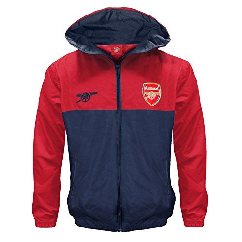 From 24.99 Arsenal Fc Official Football Gift Boys Shower Jacket Windbreaker 12-13 Years Xlb