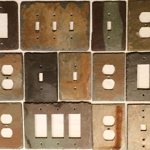 Red Tractor Plate Outlit : Best light switch plates outlet covers by slate wall