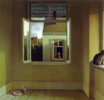 And one more from Michael Sowa. Can I just poster all his paintings and hang them on my wall?!