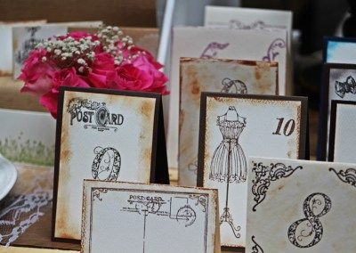 Esküvői asztalszámok a II. Wedding Pop-up Bazáron kiállítva.  #esküvőidekoráció #asztalszám  #tablenumber info@popupwedding.hu, http://www.popupwedding.hu
