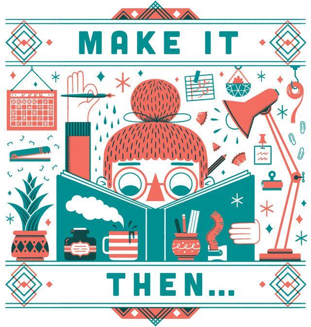 MITTE Tote - Kristyna Baczynski   #Illustration, #Comics & #Design #podcast #print