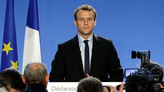 Emmanuel Macron, candidato a presidente de Francia