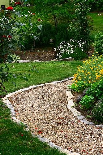Crushed Stone Walkways : Best images about landscaping garden on pinterest