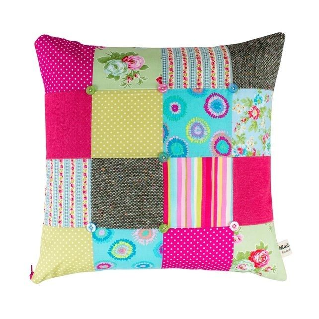 Pink Patchwork Cushion (Large) £40.00