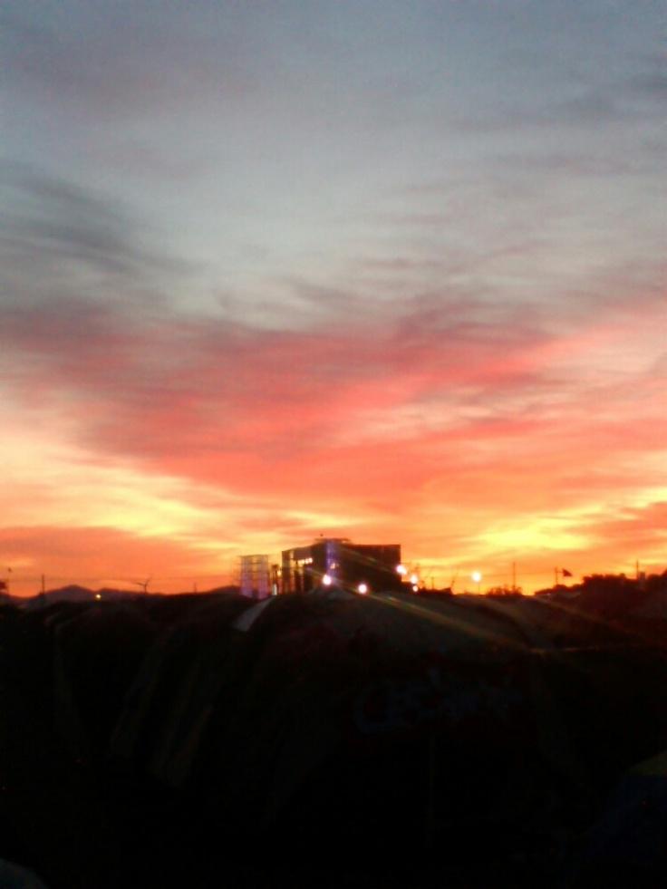 Rising Sun rock FES