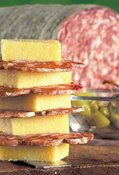 Sopressa veneta e polenta cucina veneta cucina padovana