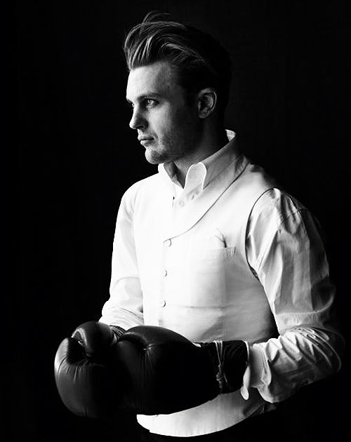 Michael Pitt by Richard Phibbs for GQ Style Korea