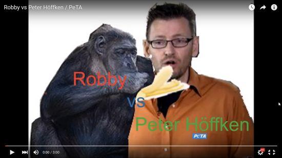 PeTA – lasst endlich Robby in Ruhe