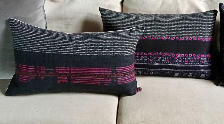 Your original 2 pillows, so you can see how the various combos for P3 and P4 might work in with them.