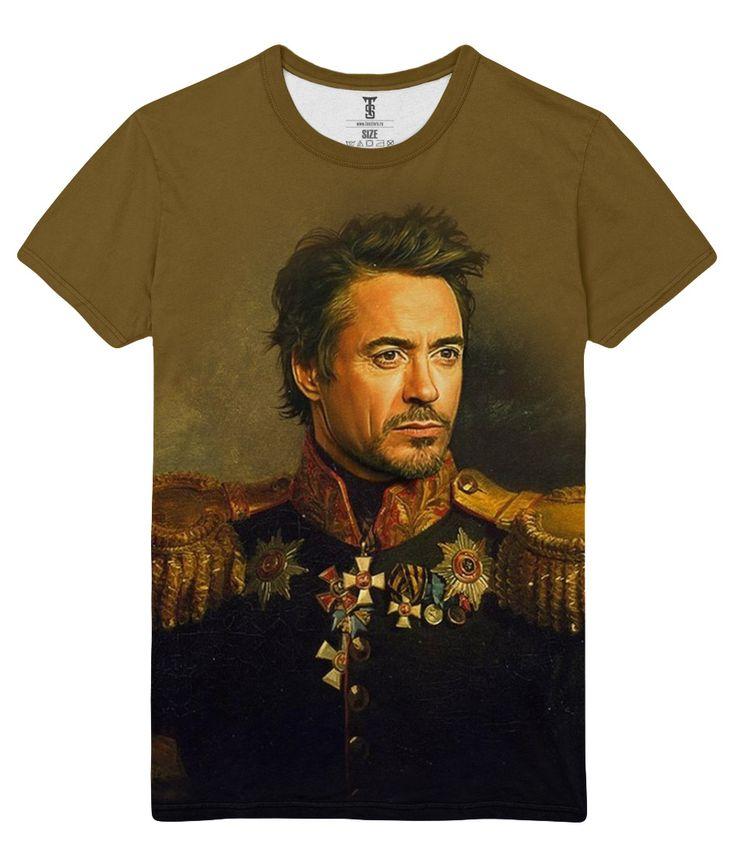 awesome T-shirt Tony Stark Robert Downey Junior Actor Art Avangard Loot Merch  -   #amazon #Apparels #australia #boy #buy #ebay #Female #girls #india #kids #loot #Male #merch #merchandise #purchase #shirts #t-shirts #ukMerch