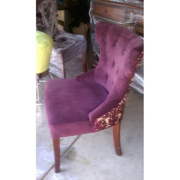 The 25+ Best Purple Dining Chairs Ideas On Pinterest | Purple Dining Room  Furniture, Purple Chair And Purple Velvet