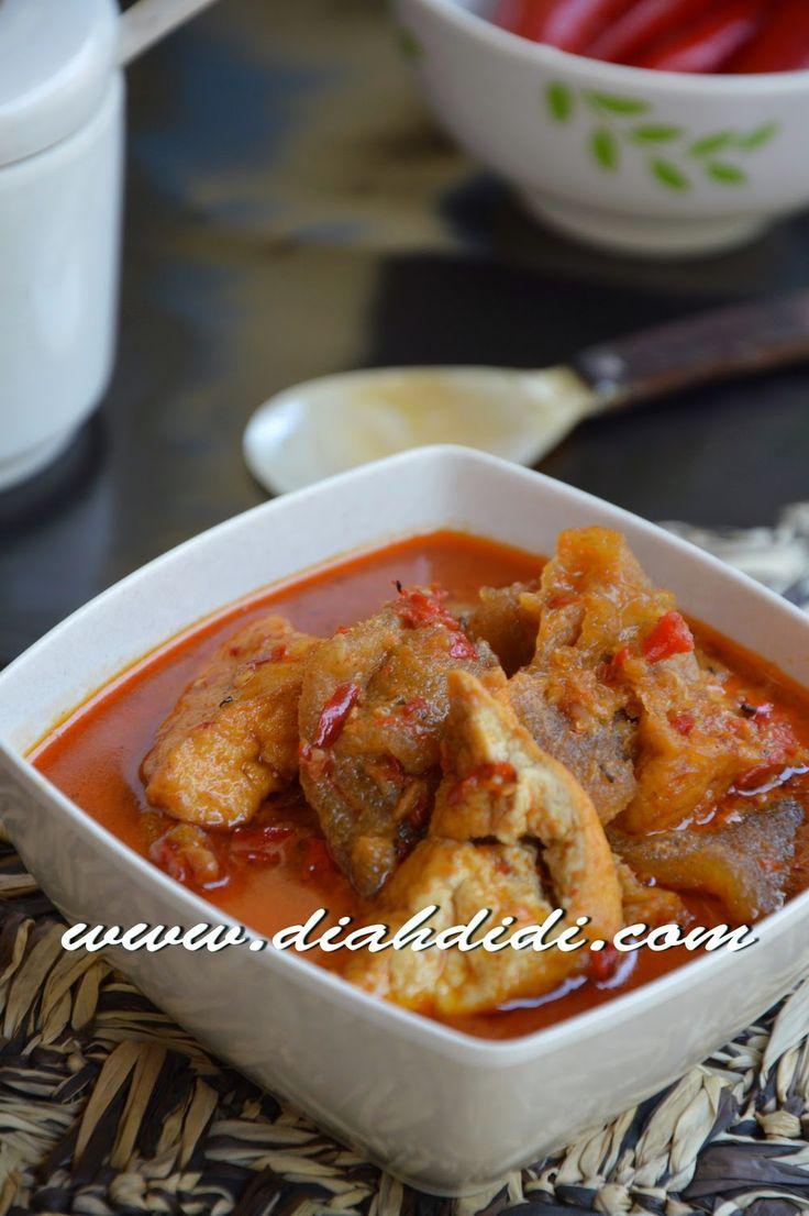 Diah Didi's Kitchen: Sambal Goreng Tahu dan Krecek Kulit