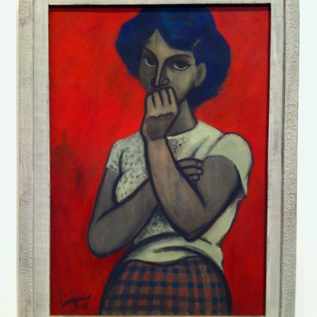 """Max Lingner, """"Die Verliebte"""" 1947  Berlin Nationalgalerie"""