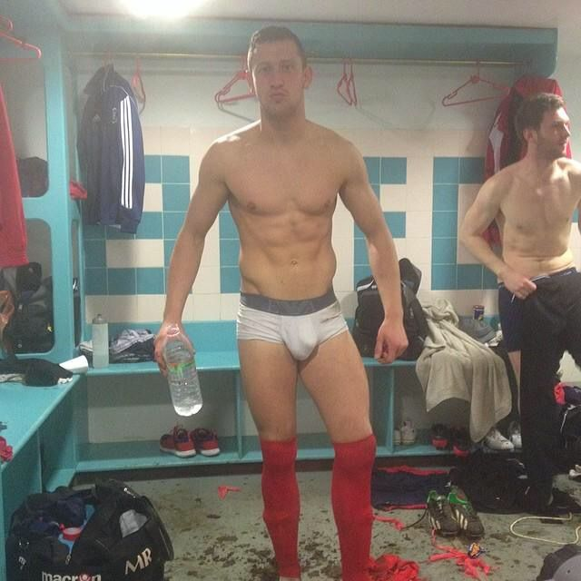 Agree, rather Soccer players locker room underwear