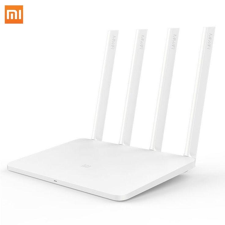 33.99$  Watch here  - Original Xiaomi Mi Wifi Router 3 wi-fi Wireless Router 2.4G WiFi 802.11a 1167Mbps Firewall Portable Four Antennas Free Shipping