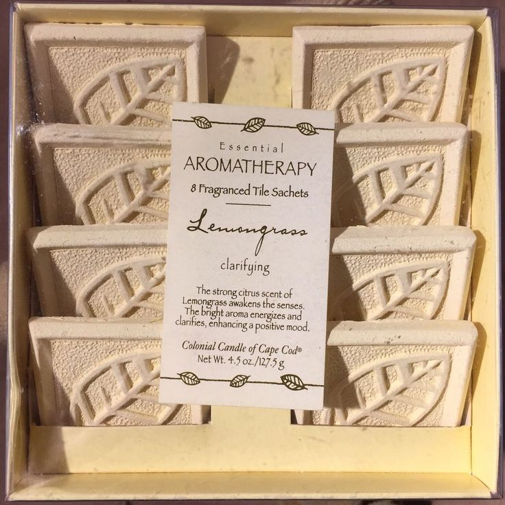Colonial Candle Of Cape Cod Part - 31: Colonial Candle Of Cape Cod Aromatherapy Lemongrass 8 Fragranced Tile  Sachets