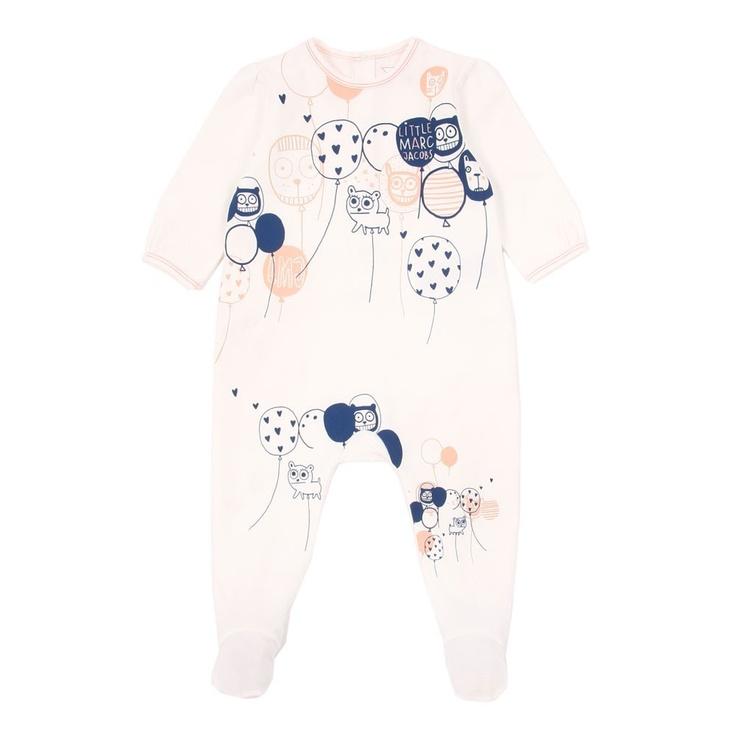LITTLE MARC JACOBS Baby Balloons Pyjamas #baby_fashion #kidswear