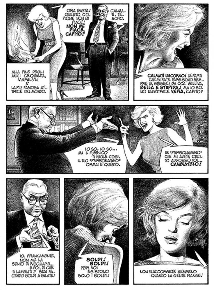 Gianni De Luca (Italy 1927) - Marilyn Monroe - 1982 - biography sample page