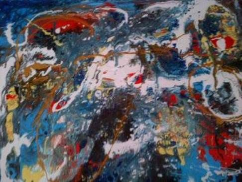 Abstract Artwork entry by Roxanne Johnston (Canada) #artcompetition #abstractart www.artfusionproductions.com.au/artcomp