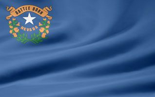 Picture of the Nevada state flag.