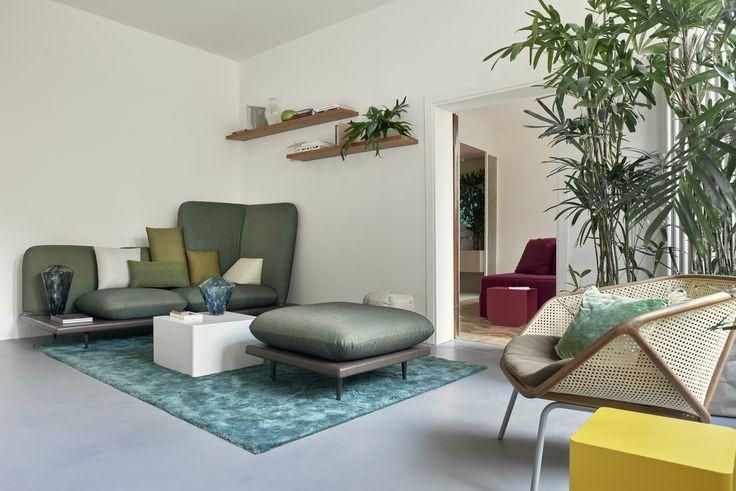 Sofa4manhattan | BertO for Casa Flora Venice. Photo by Valentina Sommariva #hospitalityfurniture #interiors #design