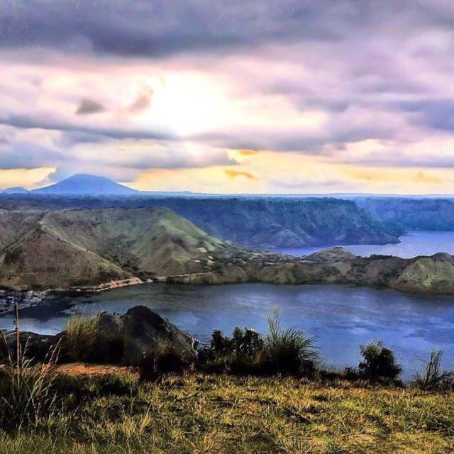 Toba Lake , West Sumatra , Indonesia.