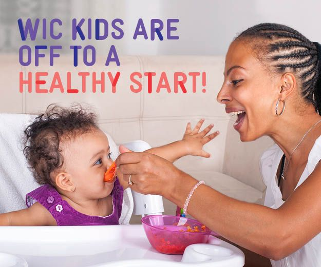 Did you know? Research shows that WIC kids get more iron, potassium, and fiber. Great job mom!  Keep feeding your child a variety of healthy foods from the WIC food pacakge so she gets these important nutrients. #gettingitdone #momstrong