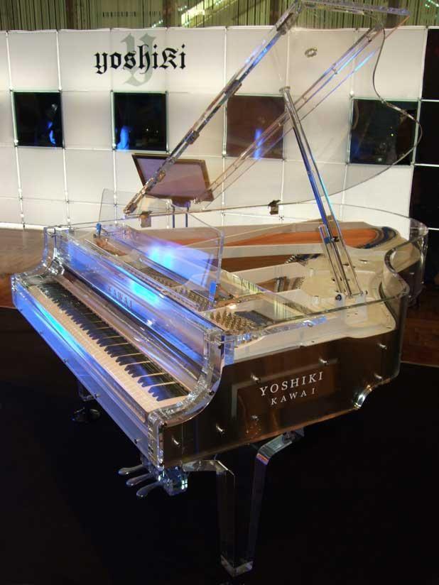 Kawai CR-40A Crystal Grand Piano http://en.wikipedia.org/wiki/Kawai_Musical_Instruments