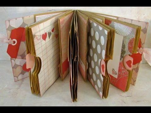 Making a Journal For Beginners - Step by Step Process | DIY Make a Memory Book | Scrapbooking Basics - YouTube