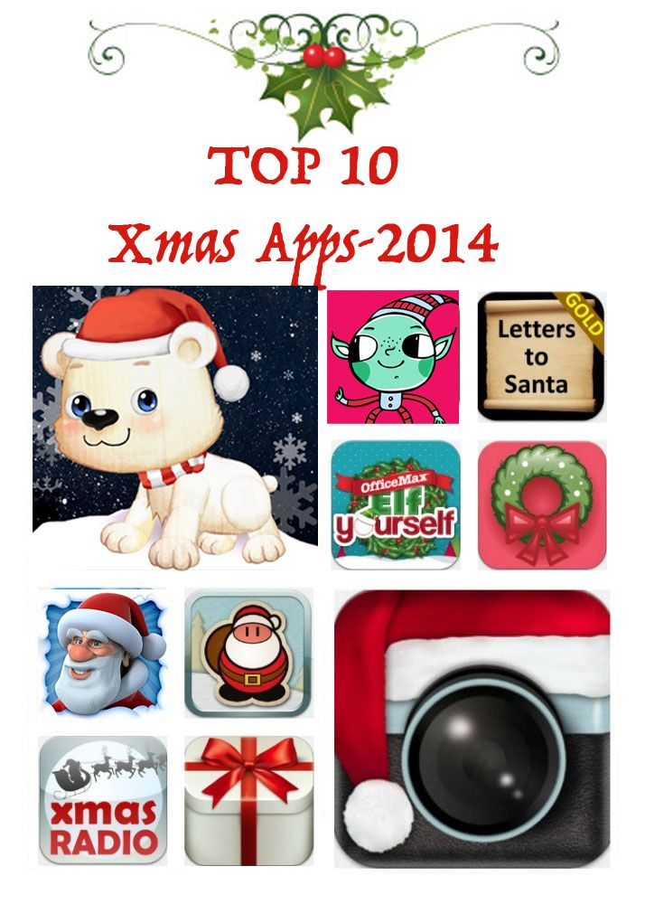 Top 10 Chrismtas apps 2014