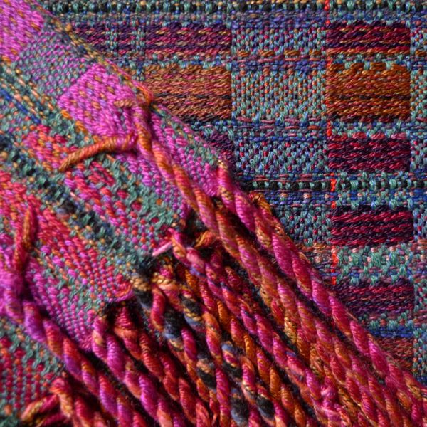 This detail shows the fabulous way in which Randall Darwall finishes his scarves.