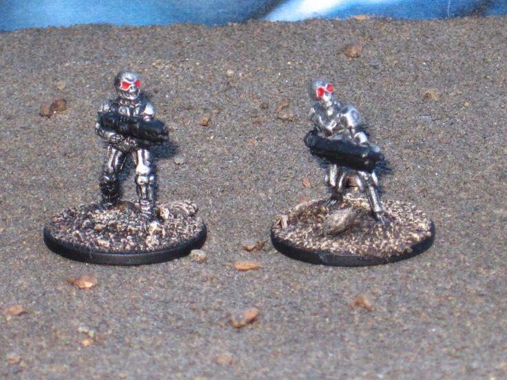 McLovin's Blog spot: Painted Battle Robots (Terminators) The Scene