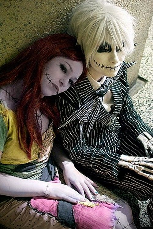 Lots of inspiration diy u0026 makeup tutorials and all accessories you need to create your own DIY Nightmare Before Christmas Sally Costume for Halloween.  sc 1 st  Pinterest & 254 best cosplay images on Pinterest | Costume ideas Anime cosplay ...