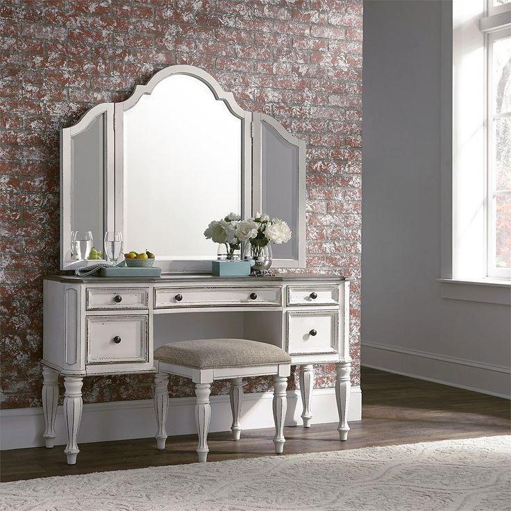 Magnolia Manor Vanity in 2020 Bedroom vanity set