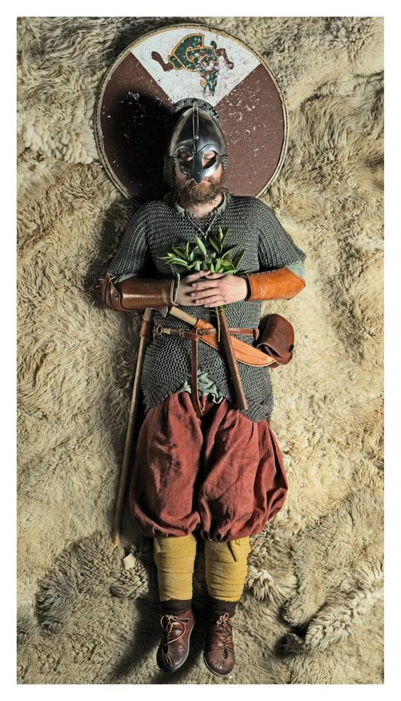 Recreations of Viking Age burials by re-enactment group Andrimners Hemtagare. These pictures are meant to illustrate what viking age graves MIGHT have looked like in Scandinavia at the time. They were originally taken to show their personal clothes, tools and utensils in preparation for a viking reenactment event.