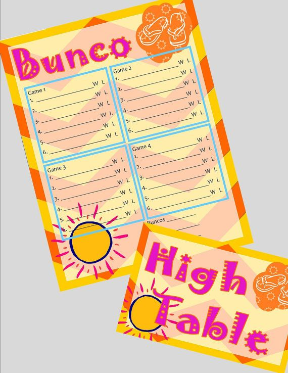 50 Best Bunco Images On Pinterest | Bunco Ideas, Bunco Party And