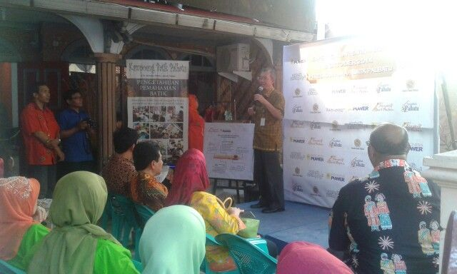 Road Map Kampoeng Batik Palbatu by PT. Indonesia Power