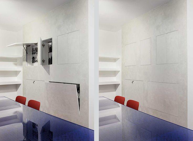 Decorazione e design sono spesso un tutt'uno nella casa contemporanea, nella quale una medesima finitura decor può interessare la porta e la parete che la ospita, così come un mobile o un pavimento.