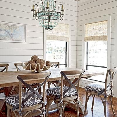 Perfect Top 25+ Best Coastal Dining Rooms Ideas On Pinterest | Beach Dining Room,  Beach Style Kitchen Fixtures And Dining Table With Chairs