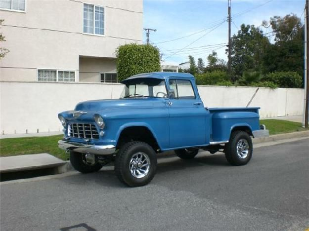 55 chevy pickup 4x4 bowtie pinterest chevy pickups chevy and 4x4. Black Bedroom Furniture Sets. Home Design Ideas