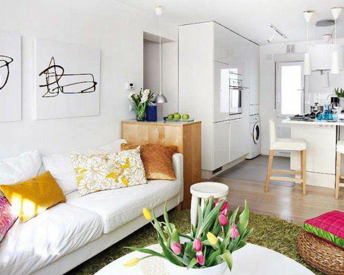 ▷ 1001 + Ideen für kleine Wohnräume