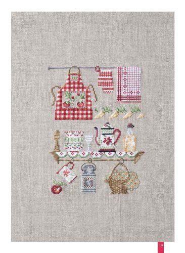 Bon appetit – French Needlework Kits, Cross Stitch, Embroidery, Sophie Digard – The French Needle