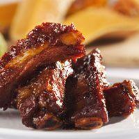 Découvrez la recette Travers de porc aux épices caramélisées sur cuisineactuelle.fr.